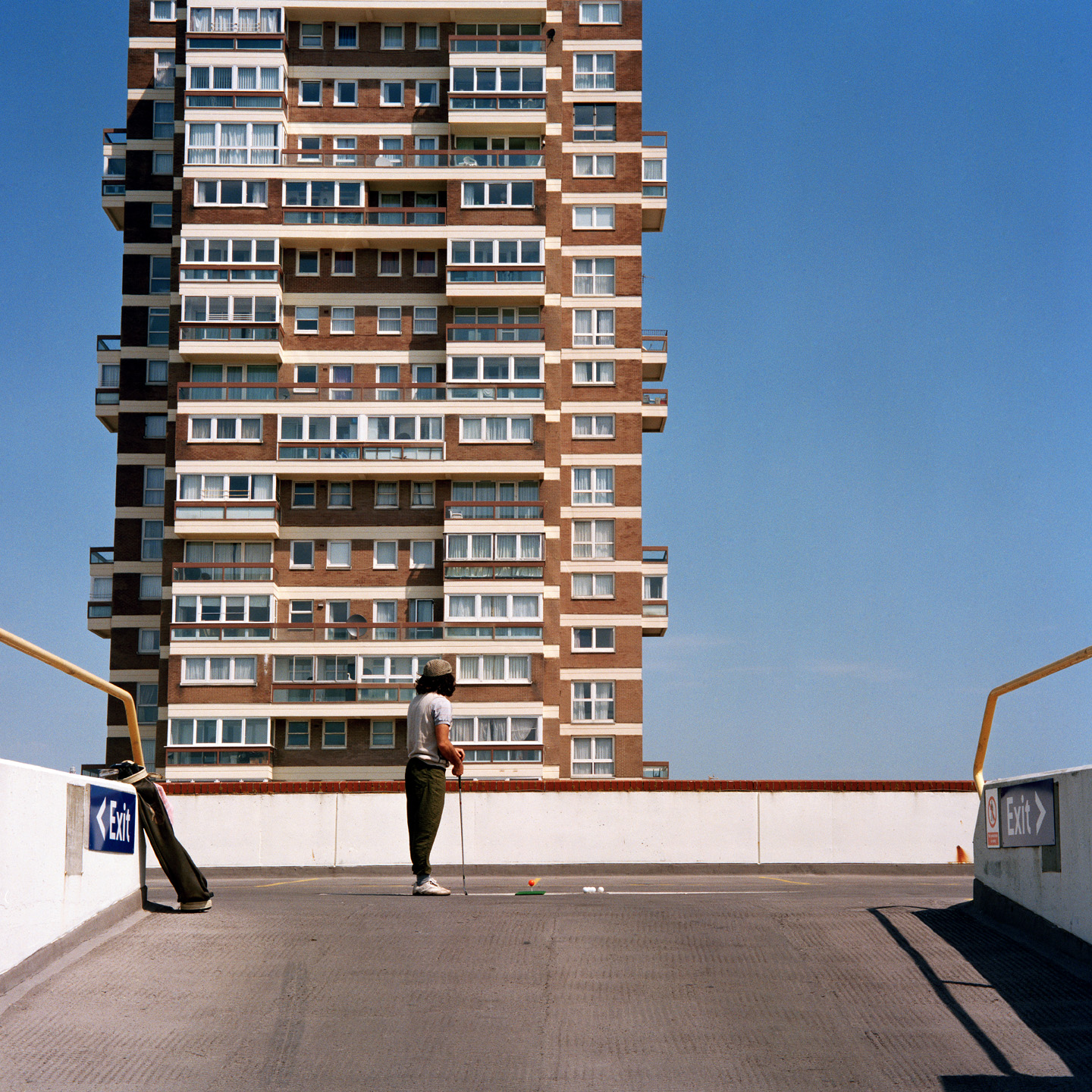 City Limits by John House (2003). One of the images from The Shot I Never Forgot.