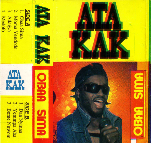 Original cover of Ata Kak's album Obaa Sima